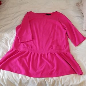 Pink drop waist dress Victoria Beckham for Target